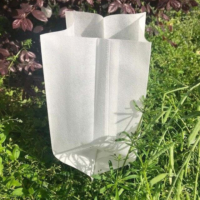 Garden Supplies 50pcs Plant Fiber Nursery Pots Seedling Raising Bags Can Degrade Environmental Protection