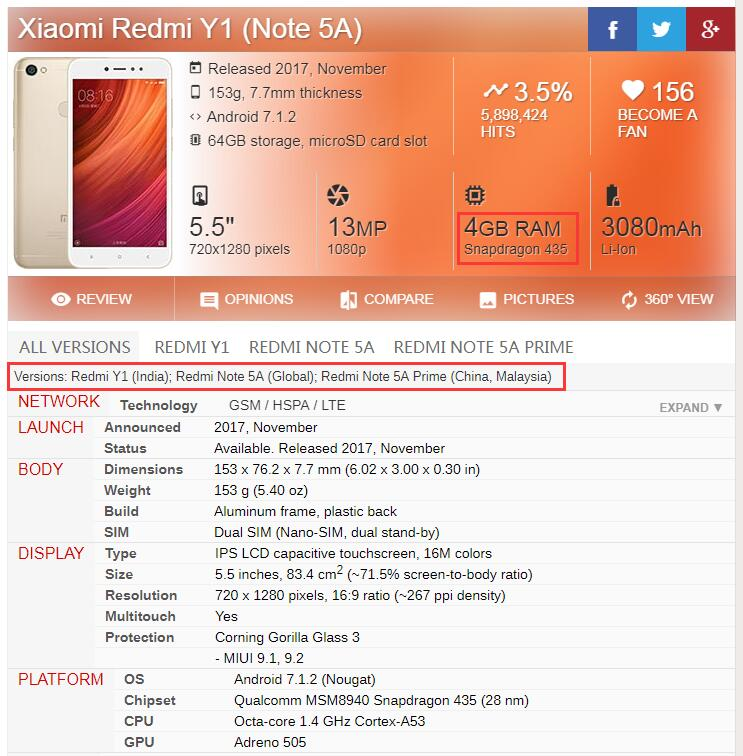 <font><b>Note</b></font> 5A IPS <font><b>LCD</b></font> For Xiaomi <font><b>Redmi</b></font> <font><b>Note</b></font> 5A <font><b>LCD</b></font> Touch Screen w/ Frame for Xiaomi <font><b>Redmi</b></font> <font><b>Note</b></font> 5A Prime <font><b>LCD</b></font> Y1 Display Y1 Lite Screen image