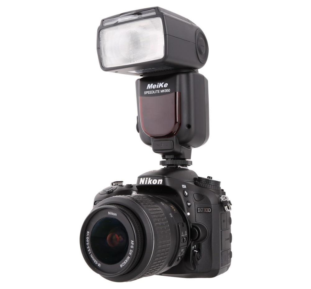 Meike MK 950 TTL i-TTL Speedlite 8 blesk Bright Control pro Nikon - Videokamery a fotoaparáty - Fotografie 2