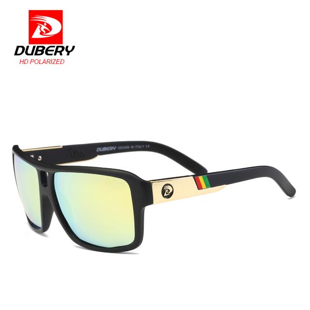 2018 DUBERY Polarized Sunglasses Men Aviator Driving Glasses Shades Brand Designer Male Sun glasses gafas de sol de los hombres