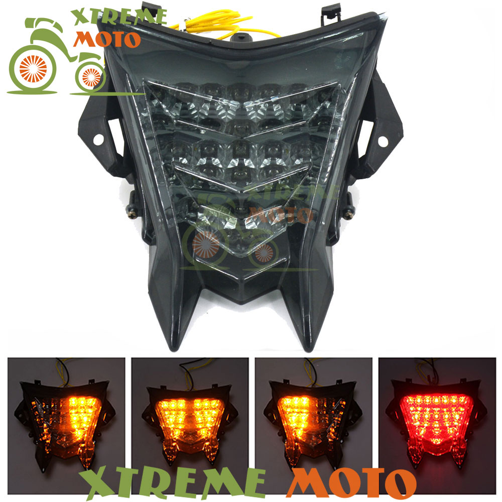 Motorcycle LED Rear Turn Signal Tail Stop Light Lamps Integrated For BMW S1000RR S 1000 RR 2010 2011 2012 2013 2014 2015 2016 led strip headlights front lamps fit for toyota corolla altis 2014 2015 2016 head lamps with turn signal lamps