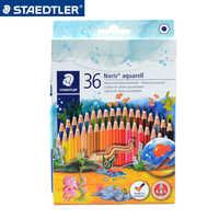 Staedtler Набор цветных карандашей радужной воды Цветные карандаши для рисования цветные карандаши для рисования граффити студенческие мелки ...