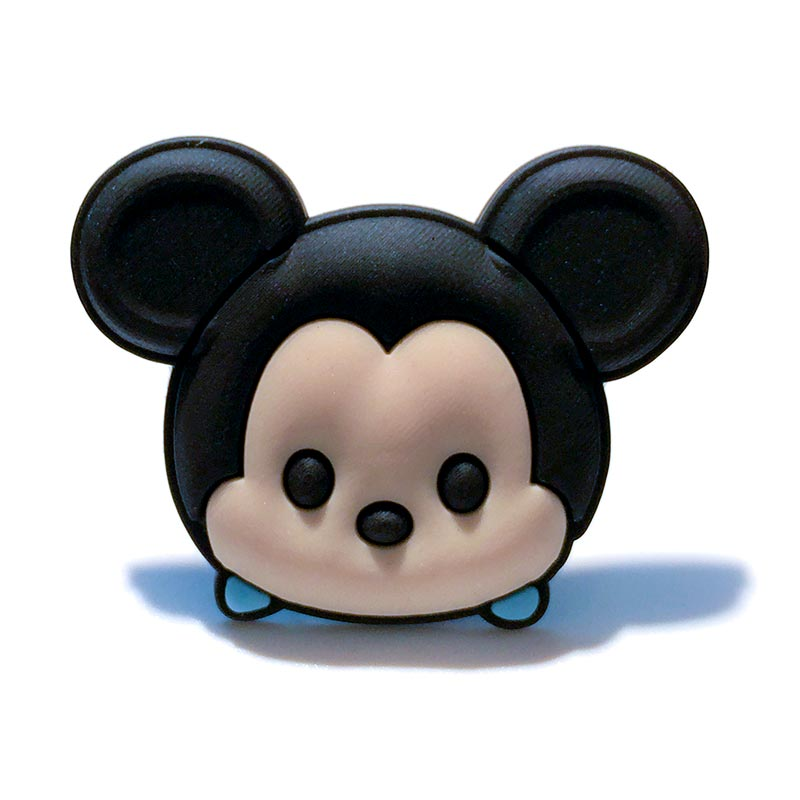 1pcs Hot Cartoon PVC Brooches Cute Mickey Pins Buttons Accessories Badges On Clothes School Bag DIY Crafts Kid Birthday Gift