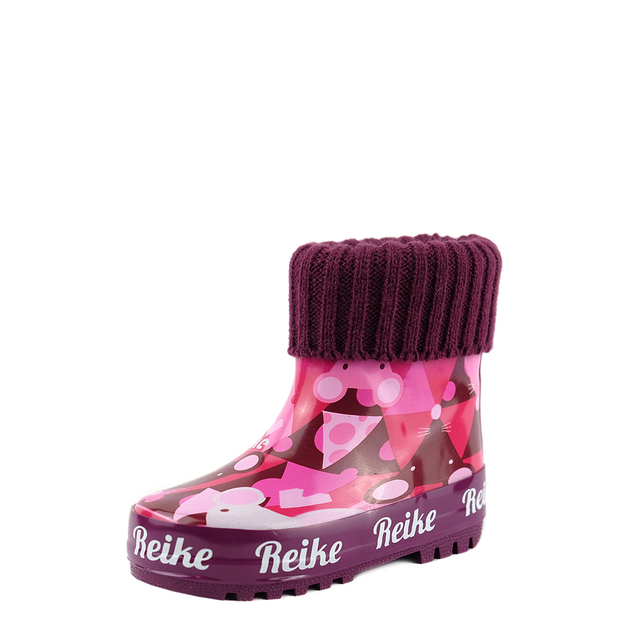 Резиновые сапоги для девочки Reike Cheese Mice berry