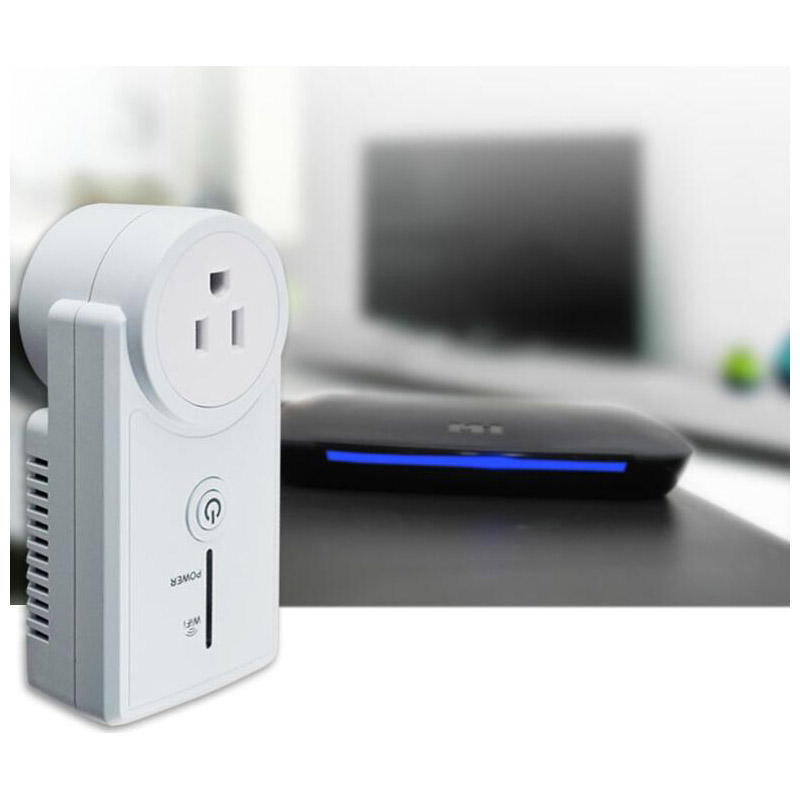 WiFi Wireless Smart Socket Smart Timer Home Remote Power Supply for IOS / Android Phone EU / US / UK Mobile APP Control