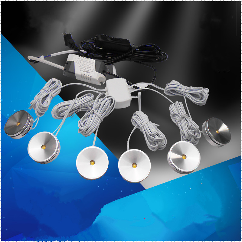 Modern LED Ceiling String Lights Living Room Kitchen Lights Glass showcase Cabinet Decorative lamp Jewelry Spotlight night lamp
