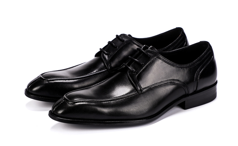 Men's Casual Shoe Business Mens Genuine Leather Shoes Men Big Size 45 Casual Leather Oxford Shoes For Men Lace Up Brogues Formal (4)