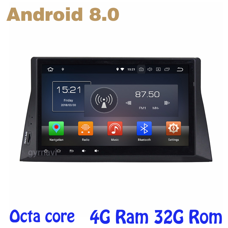 Octa core PX5 android 8.0 Car GPS radio player for honda accord 8 2008-2013 with 4G RAM no dvd WIFI 4G bluetooth mirror link ownice c500 4g sim lte octa 8 core android 6 0 for kia ceed 2013 2015 car dvd player gps navi radio wifi 4g bt 2gb ram 32g rom