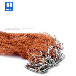 Image 4 - Flying Disc American Hand Cast Fishing Net with Lead Sinkers 300 360 420 480 540 600 720cm Easy Throw Fishing Net Fishing Tools