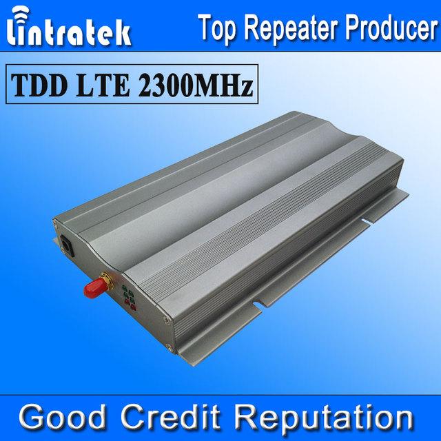 Lintratek 4G LTE TDD 2300 MHz Ganancia 65dB Repetidor de Señal 4G Repetidor TDD 2300 MHz Teléfonos Celulares Booster de Señal 20dBm Nuevo Modelo S25