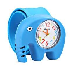 Дети часы Puzzle игрушки мультфильм животных мягкий силиконовый Кварц Симпатичные часы для мальчиков и девочек студент наручные часы