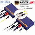 LKV378 HDMI Волоконно-Оптический Передатчик Оптический Аудио-Видео Преобразователя По TCP IP 1080 P HDMI ИК Extender 20 км Через SC/FC кабель