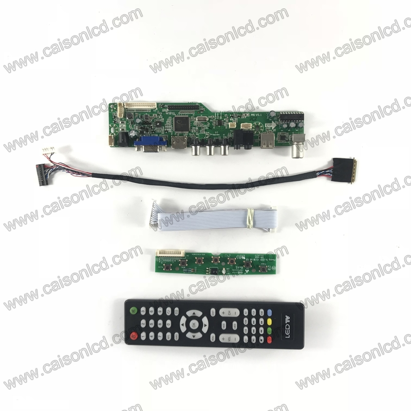 LCD LED screen Controller Driver Board kit for LP156WH3-TLL1  TV+HDMI+VGA+USB