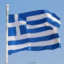Горячие 90x150 см греческий флаг деятельности фестиваль парад баннер, домашнее украшение греческие флаги A89