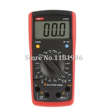 UNI-T UT603 Digital Modern Inductance Capacitance Meters Testers LCR Meter LCD Capacitors Ohmmeter w/hFE Test