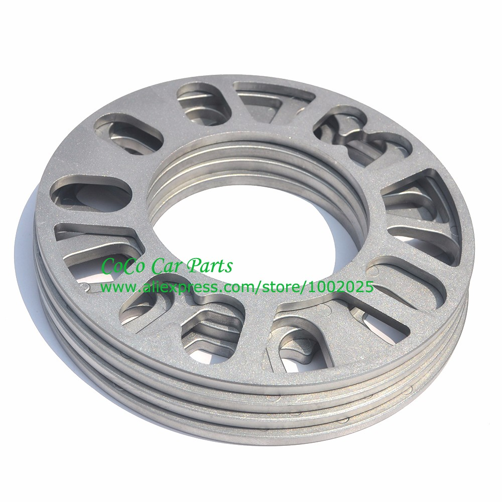 Image 5 - 2PCS Universal Alloy Aluminum Wheel Spacer Shims Plate 4 5 STUD 3mm 5mm 8mm 10mm FIT 4x100 4x114.3 5x100 5x108 5x114.3 5x120-in Tire Accessories from Automobiles & Motorcycles