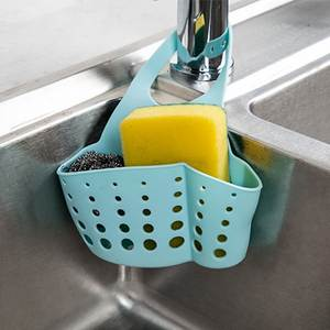 Urijk Kitchen Sponge Holder Bathroom Storage Shelf Sink