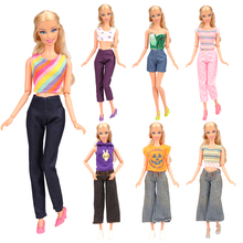 2019 Newest Handmade cheap fashion cute mini doll daily wear outfit clothes doll accessories for barbie best gift birthday gift