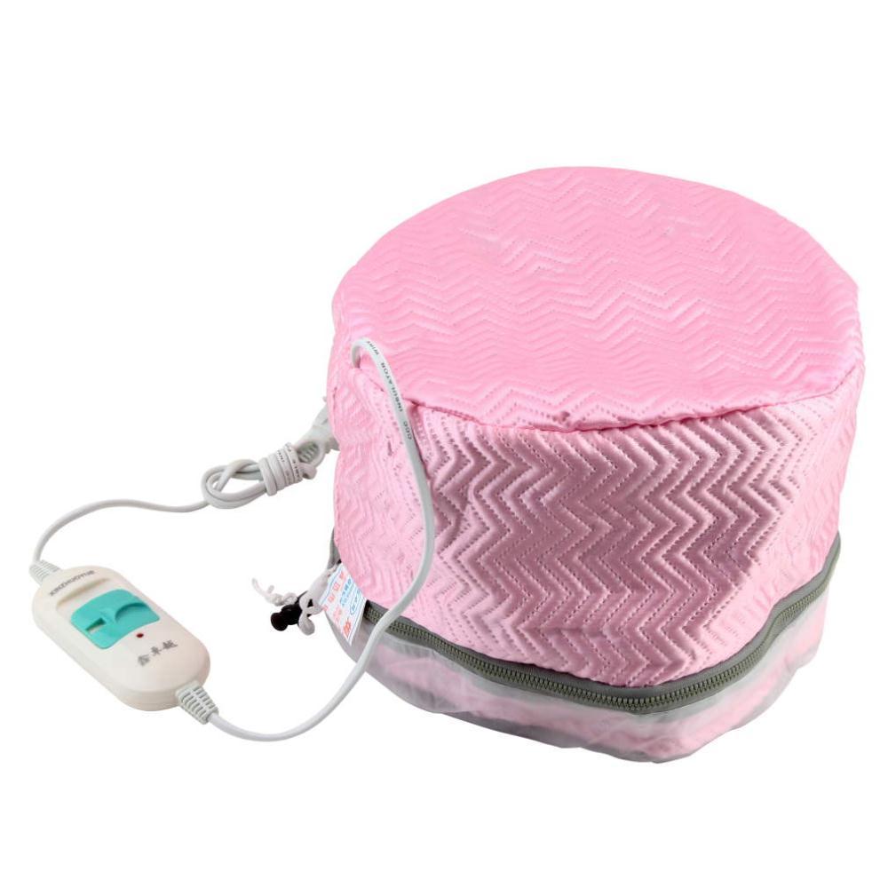 Venta caliente 1 piezas ee.uu. Plug tratamiento térmico pelo eléctrico belleza vapor SPA nutritiva cuidado del cabello Cap pelo masaje dropshipping