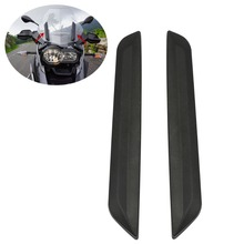 Pair Windshield Trim For BMW K50 R 1200 GS 2011-2018 K51 R1200GS Adventure 2012-2018 free shipping oxygen sensor guards one pair fit for bmw r1200gs adventure 2006 on