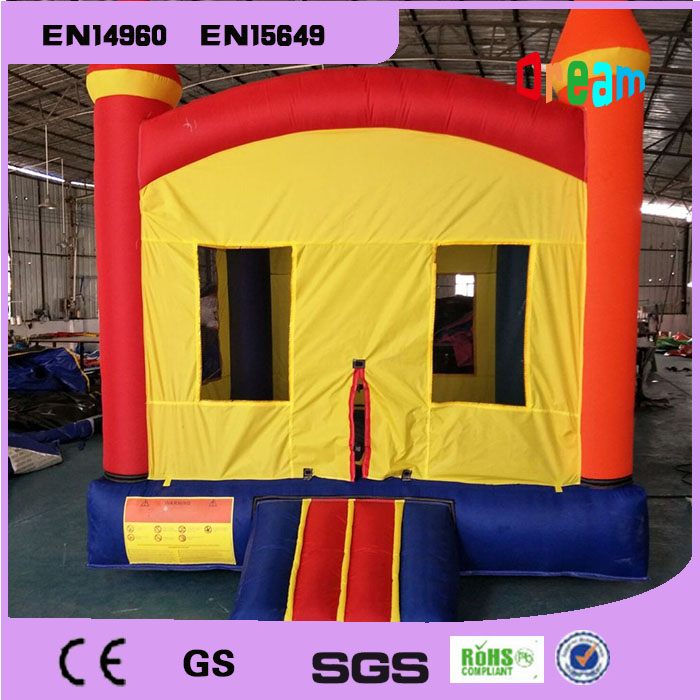 Free Shipping Inflatable Castle Jumping Bouncer House Inflatable Bouncer Castle 2015 blue yellow inflatable jumping house free shipping