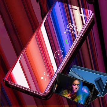 Dla Xiao mi czerwony mi uwaga 7 6 6A 5 4 4X 5A Pro Plus 5A wyczyść widok inteligentne lusterko telefon z klapką obudowa do xiaomi mi 9 8 SE Lite pokrywy skrzynka tanie i dobre opinie Aneks Skrzynki High quality PC + TPU all inclusive phone case 4X Redmi Nocie Redmi Note 4 Redmi 4A Redmi Pro Do telefonów Redmi Note