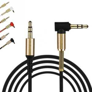 Gold Plating 3.5mm Jack Stereo Audio Cable for Phone MP3 Male to Male Car Aux Auxiliary