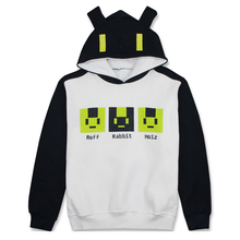 Brdwn Dramatical Murder DMMD Unisex Noiz Rabbit Cosplay Costume Hoodie Casual Coat Hooded Tops