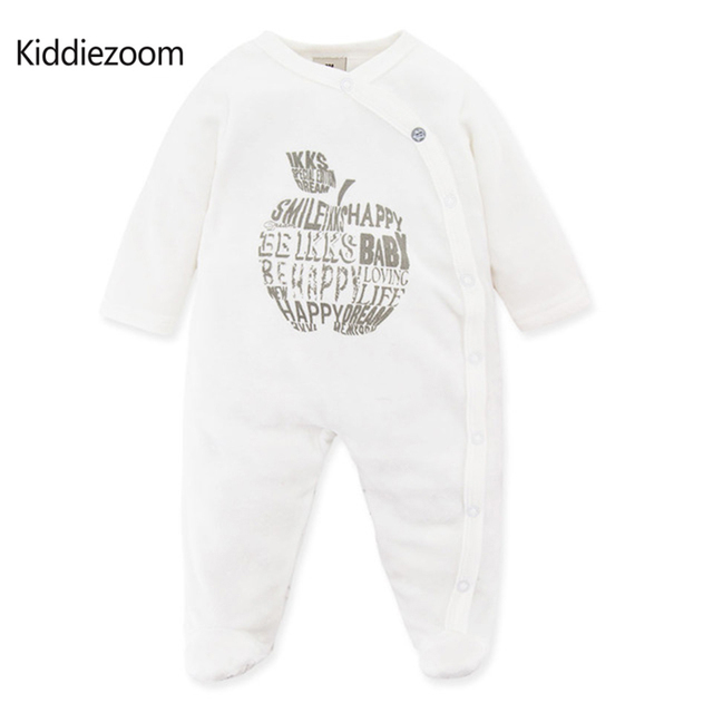 122a651c4 High Quality Newborn Unisex Baby Clothes Fashion White Purecolor ...