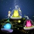 Nova Lâmpada Da Noite Totoro Spiderwick Portátil Sensor de Toque USB LEVOU luminaria de luz Para O Quarto Do Bebê Do Sono Iluminação Da Decoração Da Arte mesa