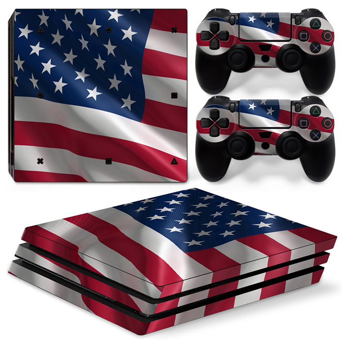 Wholesale for PS4 Pro for Sony Playstation 4 Pro Console Vinyl Skin Sticker