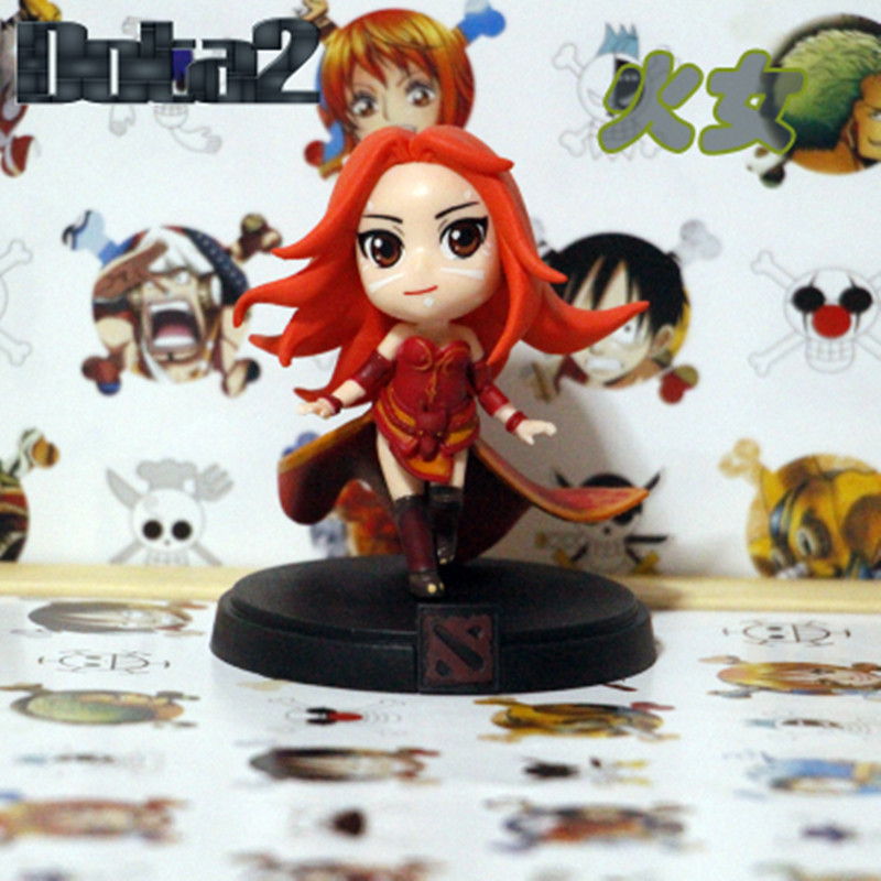 WOW Alle Stijlen DOTA 2 Game Figuur Kunkka Lina Pudge Queen - Speelfiguren - Foto 5