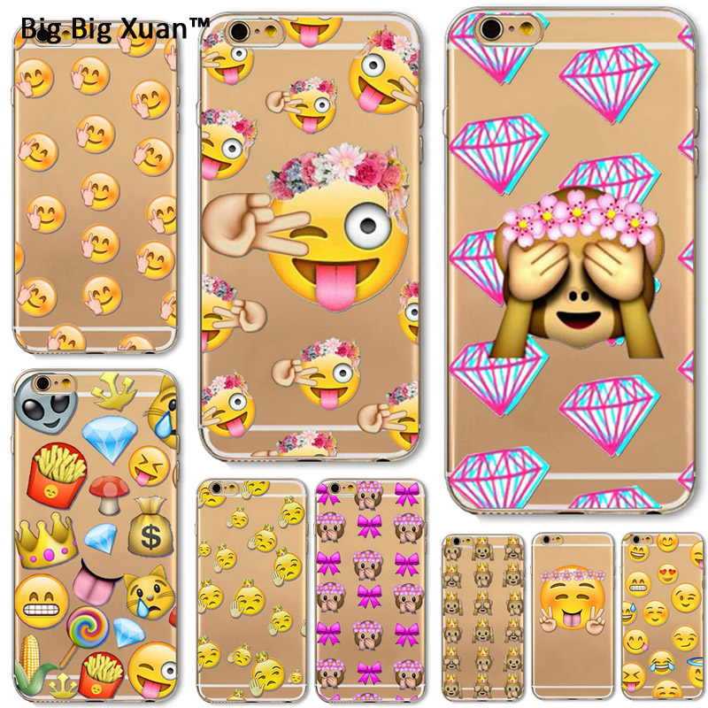 coque iphone 6 emoji singe
