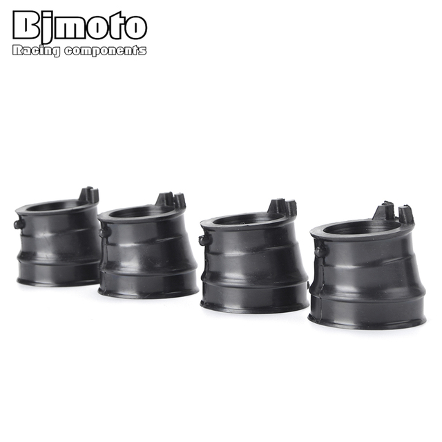 BJMOTO Motorcycle CB 400 Carburetor Rubber Adapter Intake Manifold For Honda CB400VTEC CB400 VTEC CB 400VTEC 1999-2010