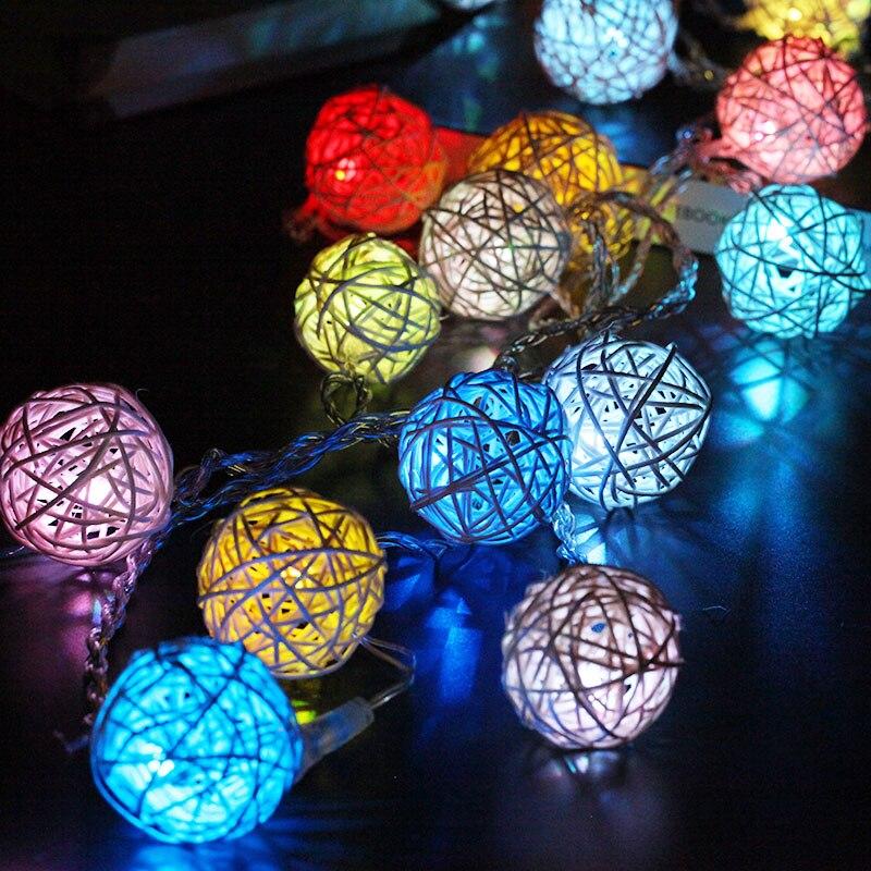 Luz Conduzida da Corda moda 20 levou luz festão Música : Nenhum