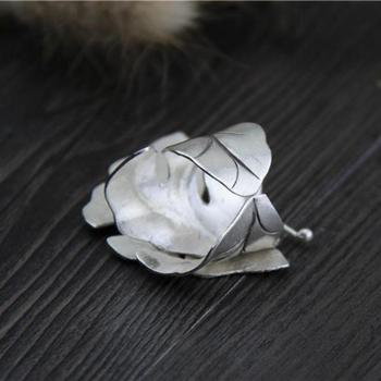 Handmade 999 Sterling Silver Elegant Butterfly Rings Fine Jewelry2