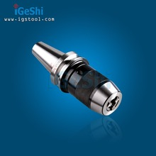 BT40 APU13 Integrated keyless self tight  Drill chuck  for milling lathe Range:1-13mm