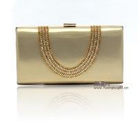Women Evening Bag Luxury Black/Silver Wedding Party Bag Diamond Rhinestone Clutches Crystal Bling Gold Clutch Bag PuWY139