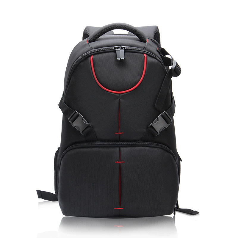 High capacity Waterproof Digital DSLR Camera Video Bag Small DSLR Canon Camera Backpack for Photographer High Quality 2017 new dslr camera bags dslr camera bags waterproof high capacity backpack red black camera cases