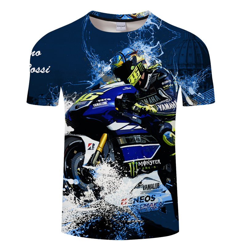 32db1f310eb6 Motorcycle Gps 3D Men T shirt Printed Summer Men Women Short Sleeves Vespa 3D  t shirts