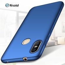 CASE for Xiaomi Redmi Note 6 pro Hard PC Slim Matte Skin Protective Back cover cases sFor Xiomi 6A Note6 phone bags