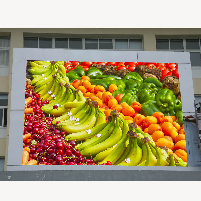 Waterproof Outdoor P10 Advertising Led Sign 2019 New Products Common Cathode Energy Saving Led Screen