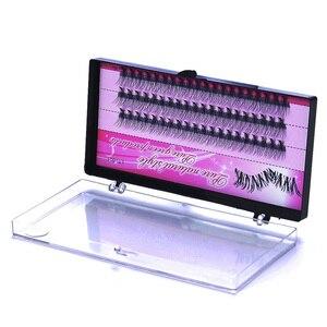 Image 5 - Moda 60 pçs profissional maquiagem individual cluster cílios olho enxertia falso cílios postiços