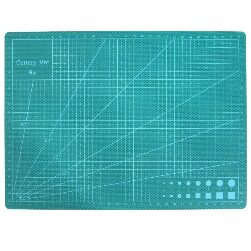 PVC A4/A3 Cutting Mat Self Recovery Cutting Pad for Engraving Handmade DIY Cutting Plate Double-sided Self-healing