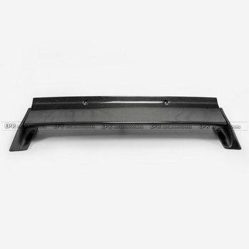 炭素繊維リアスポイラー(含まれサポートロッド)カースタイリングアクセサリーパーツ用r32 gtr r bスタイルカーアクセサリー