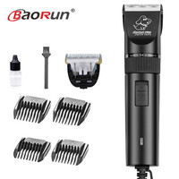 Professional High Power 20W Electric Pet Hair Clipper Cat Dog Rabbit Hair trimmer Grooming Machine Dog Hair Shaver 110 240V AC