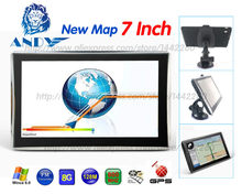 katarina x7 7 inch HD Car/Truck GPS Navigation 800M/ FM/8GB/128MB Maps For Russia/Belarus/Kazakhstan Europe/USA+Canada(China)