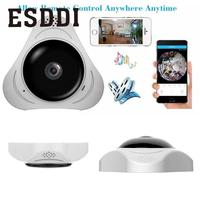 High Quality Real 360 Degree Fisheye Panorama Security IP VR 360 Video Camera Support Night Vision