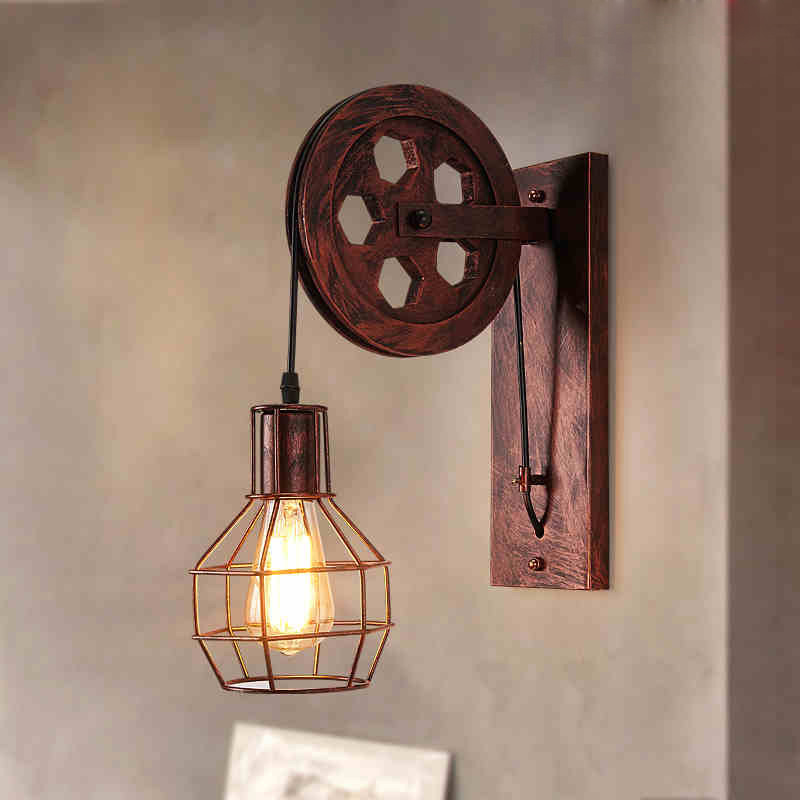 living room mirror light wall sconce Nordic creative folding wall lamp long arm adjustable light bedroom bedside office study modern american country retro mirror front wall light creative bedside bedroom living room study long arm wall lamp