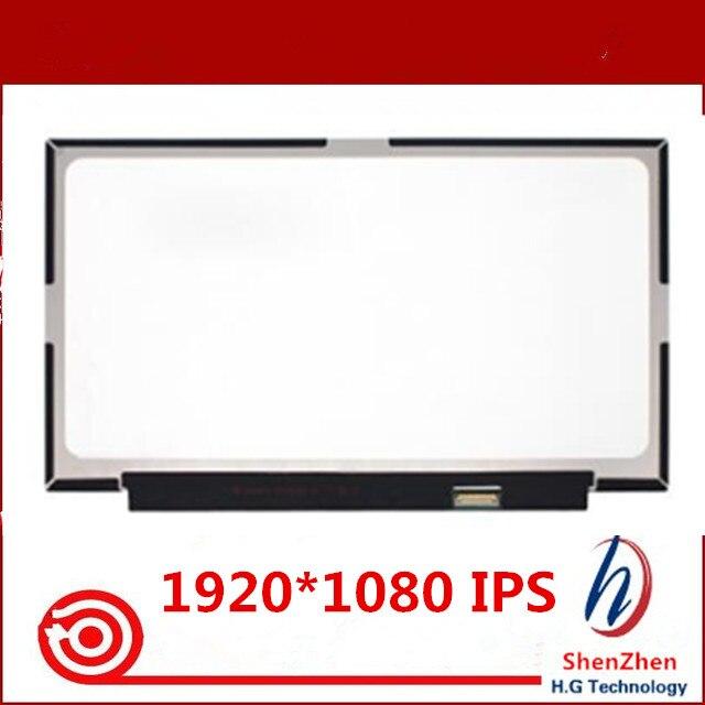 FHD LCD Screen Display Matrix N140HCE GN2 01ER480 For Lenovo Thinkpad X1 Carbon 6th Gen 2018 year